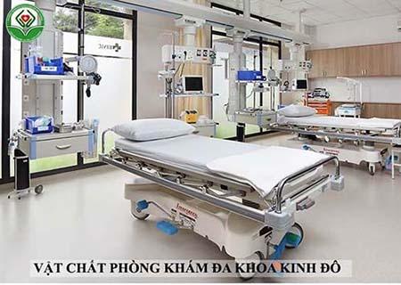 Cơ sở vật chất của phòng khám Kinh Đô
