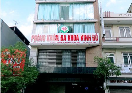 Phòng khám Kinh Đô là địa chỉ chữa đau dương vật hiệu quả