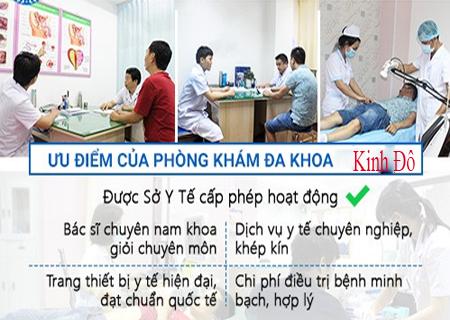 Phòng khám Kinh Đô hỗ trợ điều trị đái khó an toàn