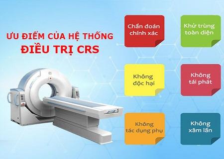 Phương pháp CRS hỗ trợ điều trị bí tiểu an toàn