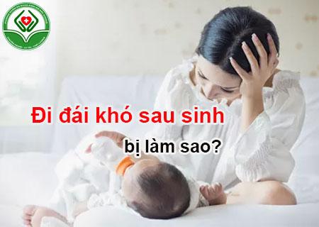 Đái khó sau sinh cần cẩn trọng