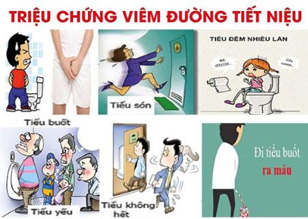 Những dấu hiệu của bệnh viêm đường tiết niệu